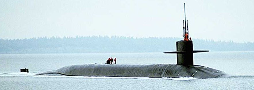 military submarine background