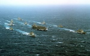 eisenhower strike group